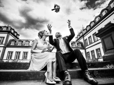 Als Hochzeitsfotograf im Schloss Philippsruhe in Hanau
