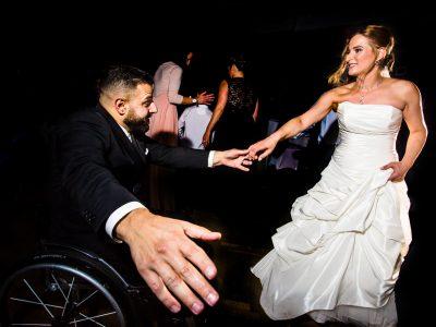 Hochzeitsfotograf Wiesbaden: Eine coole Hochzeit mit Rollstuhl