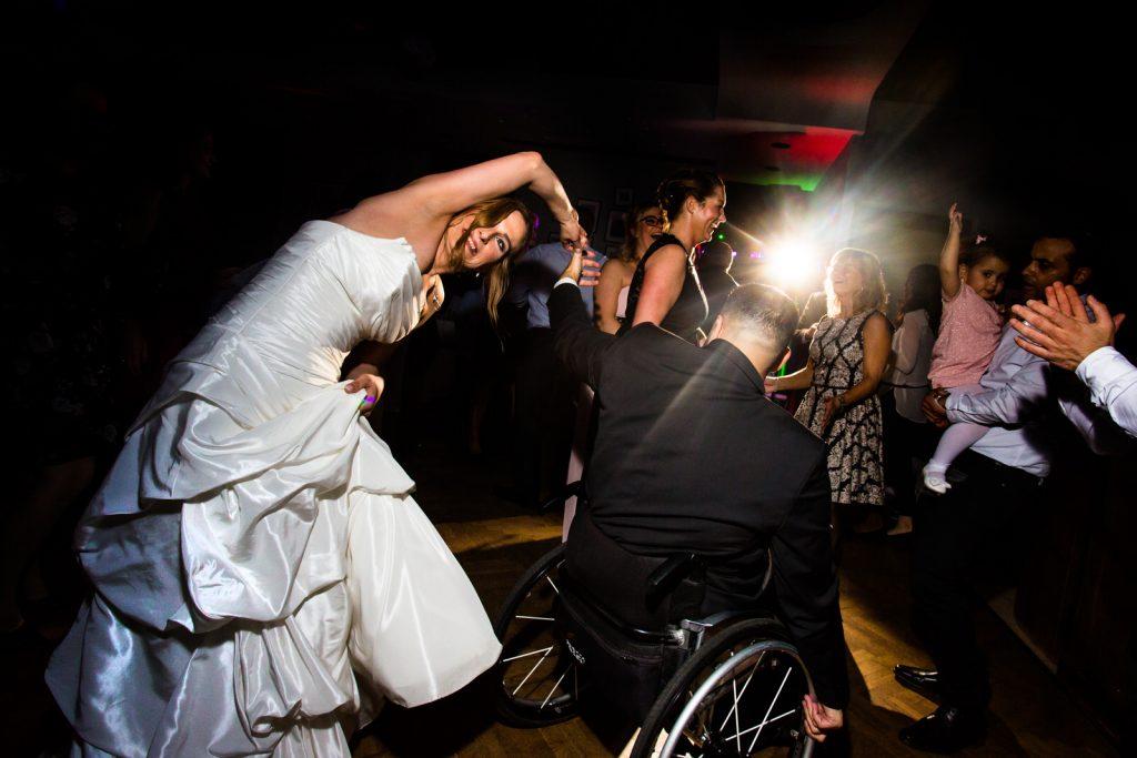 Rollstuhl Tanz Hochzeit
