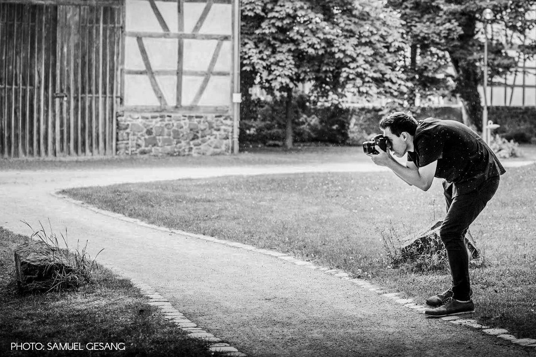 Making Of Bild von Hochzeitsfotograf Steven Herrschaft auf einer Hochzeit fotografiert von Samuel Gesang